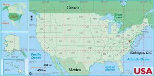 latitude map us states latitude and longitude