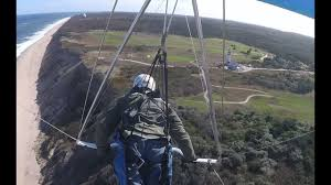 hang gliding cape cod lighthouse to lighthouse youtube