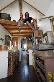 howling reclaimed wood interior craftsman style tiny home
