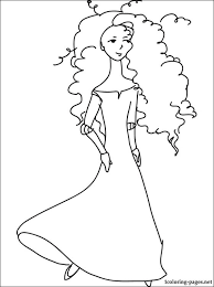 princess merida brave coloring coloring pages