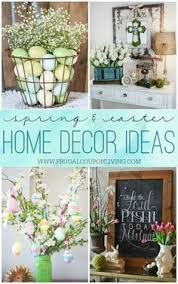 spring home decor easy painted spring decor easter spring and paint burlap