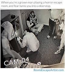 Fear Meme - escape room fear meme room escape artist