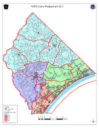 County Map Of South Carolina Horry County Police Patrol