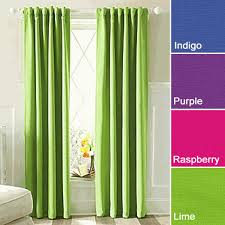 Curtains With Purple In Them Yay Lime Green Blackout Curtains I Was Worried I Wouldn T Be