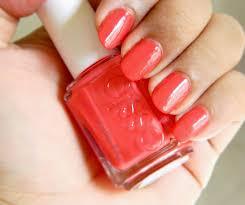 essie nail polish in coral reef notd sana u0027s ramblings