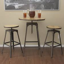High Bistro Table High Bistro Table And Chairs Bistro Table And Chairs Angeles 3pc