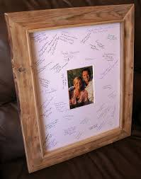 wedding autograph frame 12 best autograph frame images on grad