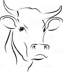 simple cow stock vector art 165657906 istock