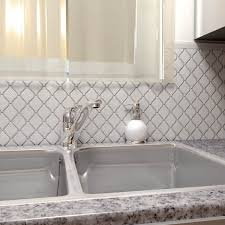 somertile 9 75x11 inch casablanca glossy white porcelain mosaic