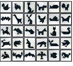 tangram puzzles 61 best tangram images on puzzles children and maths