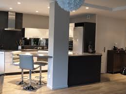 salon et cuisine ouverte cuisine enouverte sur salon galerie et photo cuisine ouverte sur