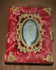 antique photo album vintage antique velvet photo album patented 1882