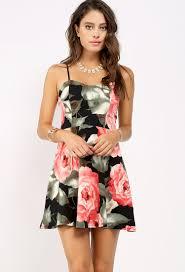 sun dress floral mini sundress shop mini dresses at papaya clothing