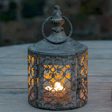 Morroco Style by Baby Lattice Moroccan Style Candle Lantern By The Flower Studio
