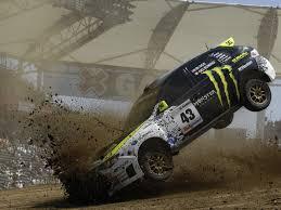 subaru rally wallpaper car subaru impreza strike land dirt rally flight monster ken block
