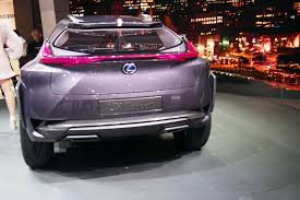 lexus luxury crossover lexus ux concept previews flashy compact crossover autoguide com