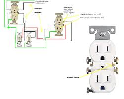 leviton gfci outlet wiring diagrams 3 duplex outlet wiring light