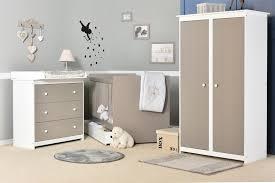 deco chambre bebe blanc et taupe visuel 4