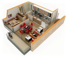 one bedroom house apartment plans home design