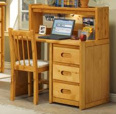 Student Desk With Hutch Single Pedestal Student Desk With Corral Hutch By Trendwood Wolf