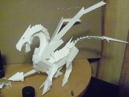 paper dragons one paper by devinedragonx on deviantart