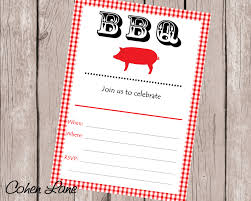 instant download baby shower invitations instant download fill in bbq invitation fill in invitations