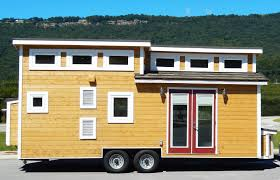 Tiny Houses Inside Nooga Blue Sky Tiny House On Wheels Thow Small Homes For Sale