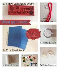 easy christmas crafts 11 snowman christmas card speech room style