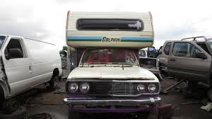 toyota motorhome junkyard find 1978 toyota dolphin mini motorhome