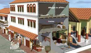 roman insula floor plan a night in rome insula romana