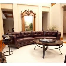 Curved Sectional Sofa Leather 25 Contemporary Curved And Sectional Sofas