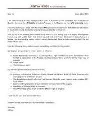 cover letter for resume quantity surveyor ayo ngaji
