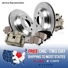 front oe brake calipers rotors u0026 pads kit mitsubishi eclipse