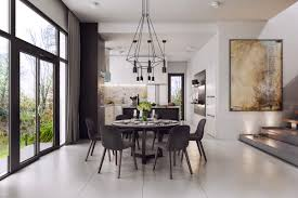 Dining Room Floor 30 Black U0026 White Dining Rooms That Work Their Monochrome Magic