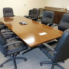 used conference room tables used archives workplace partners