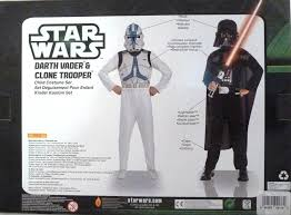 clone trooper wall display armor amazon com star wars darth vader and clone trooper costume set