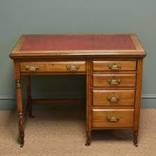 Small Vintage Desks Quality Small Edwardian Walnut Antique Writing Desk C 1900