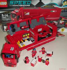 lego ferrari speed champions lego speed champions 75913 u2013 f14 t u0026 scuderia ferrari truck