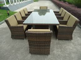6 Seat Patio Dining Set - outdoor garden furniture set for outdoor activity stylishoms