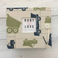 baby book baby books ruby baby memory keepsake books