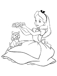 alice in wonderland coloring pages caterpillar alice in wonderland