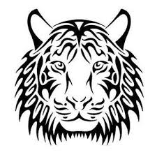 tribal tiger drawings tiger tattoos designs