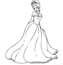 prince princess coloring pages disney princess cinderella