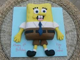 spongebob squarepants cake spongebob squarepants novelty birthday cake by cakes of