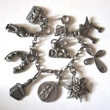 Paris Themed Charm Bracelet 69 Best Vintage Travel Charm Bracelets Images On Pinterest