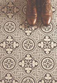 Home Patterns The Salisbury Printed Tiles In A Monochrome Pattern Make A