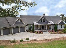 ranch floor plans with 3 car garage plan 29876rl mountain ranch with walkout basement rustic house