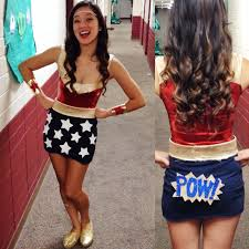 diy wonderwoman costume halloween diy pinterest costumes