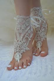 barefoot sandals wedding barefoot sandals ivory shoes bridal sandals wedding