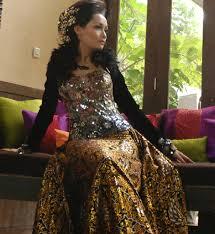 wedding dress batik batik wedding dress voguemagz voguemagz